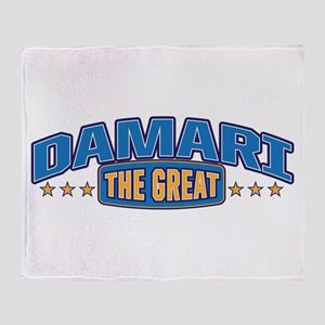 The Great Damari Throw Blanket